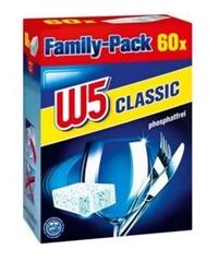 Изображение W5 dishwasher detergent tabs Classic