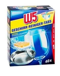 Изображение W5 All-in-1 dishwashing detergent tabs