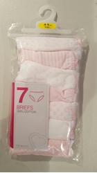Picture of Girl briefs 7 pack