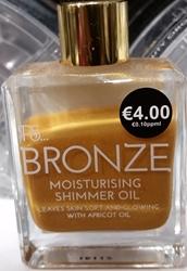 Picture of Bronze moisturising shimmer oil