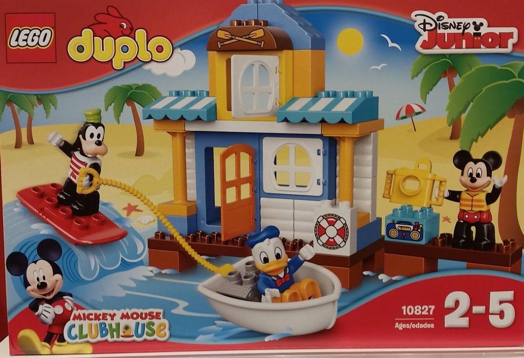Berlinbuy Lego Duplo 10827 Mickey Mouse Friends Beach House