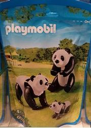 Изображение Playmobil 6652  2 Pandas mit Baby