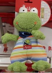 תמונה של בובת צפרדע מוזיקלית עם חוט משיכה