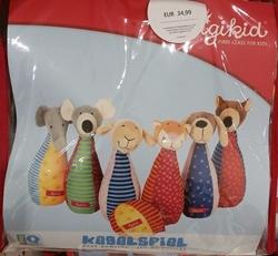 Изображение Sigikid Set animal puppet set toy