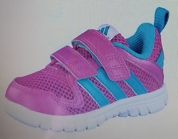 Picture of Adidas performance shoes for girls- Fluid 3 CF pink