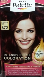 Picture of Intense color cream bordo red 872 POLY PALETTE