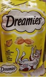תמונה של אוכל לחתולים חטיף עם גבינה