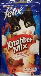 תמונה של אוכל לחתולים מיקס בטעמים של בקר, עוף וסלמון