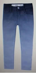 Picture of Girls Grey skinny jeans from twill