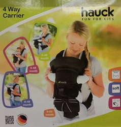 Picture of Hauck Baby 4 way carrier original , black, cotton