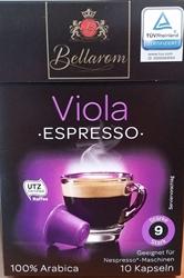 Picture of Bellarom Viola Espresso capsules