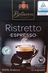 Picture of Bellarom Ristretto Espresso capsules