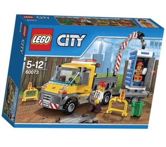 תמונה של לגו עיר 60073 משאית שירות