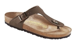 Picture of Birkenstock Gizeh Birko-Flor brown