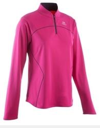 תמונה של חולצת ריצה שרוול ארוך תרמי אקידן נשים KALENJI