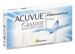 תמונה של עדשות מגע לשבועיים גונסון & גונסון Acuvue Oasys with Hydraclear Plus