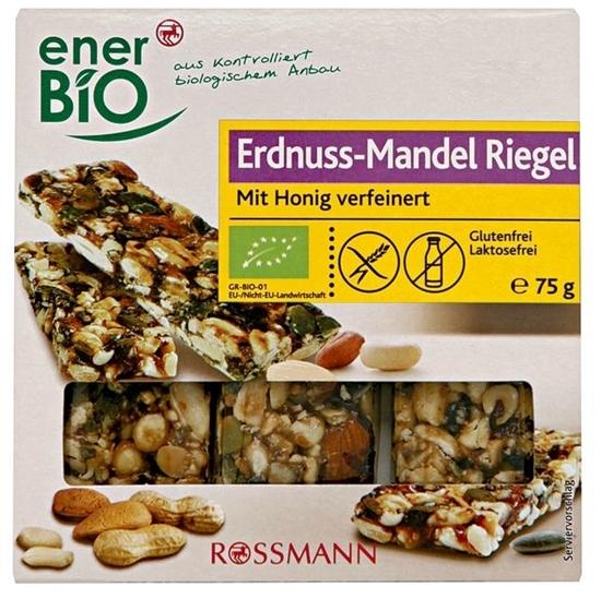 Picture of enerBiO Bio Erdnuss-Mandel Riegel