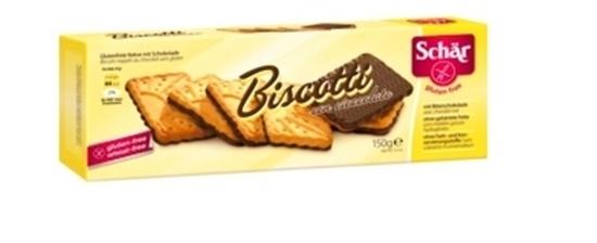 Picture of Biscotti con cioccolato Gluten-free biscuits