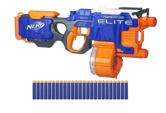 Изображение Hasbro Nerf B5573EU4 - N-Strike Elite Hyper-Fire Blaster