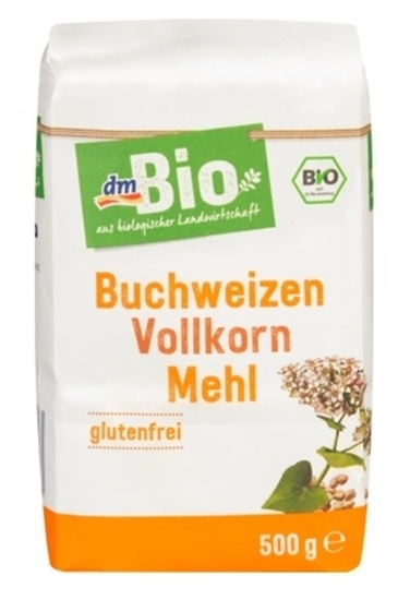 Picture of Buckwheat whole grain flour