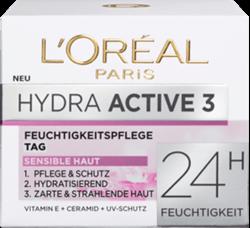 תמונה של טיפול יום הידרה אקטיב 3 לעור יבש ורגיש L'ORÉAL PARIS