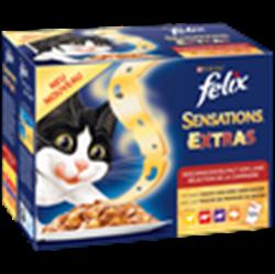 תמונה של אוכל לחתולים פליקס 12 יחידות * 100 גרם