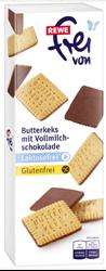 תמונה של עוגיות חמאה מצופות שוקולד- ללא גלוטן