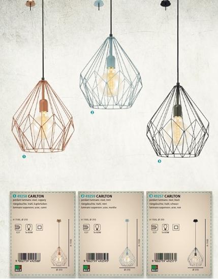 תמונה של מנורות לאי מסדרת וינטאג של חברת איגלו האוסטרית