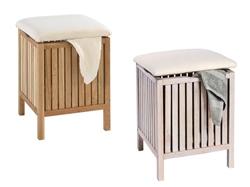 Изображение Wenko bath stool with laundry collector