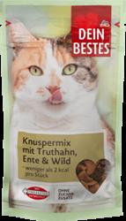 תמונה של חטיף קריספי לחתולים - מיקס בשר הודו, צבי וברווז