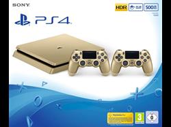 תמונה של Sony PlayStation 4 PS4 GOLD 500Gb SLIMקונסולת משחקים סוני