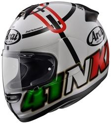 Picture of Arai Axces II Haga Monza Helmet Weiss