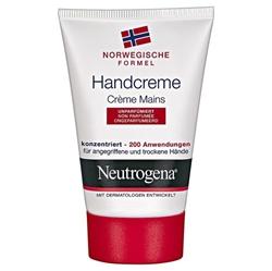 תמונה של ניוטרוג'ינה קרם ידיים עם הנוסחא הנורווגית לטיפול בידיים