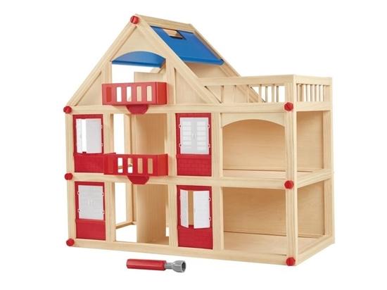 תמונה של בית בובות למשחק מעץ PLAYTIVE JUNIOR