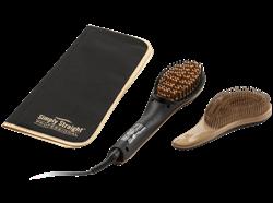 תמונה של מברשת להחלקת שיער קרמית- GENIUS 17004