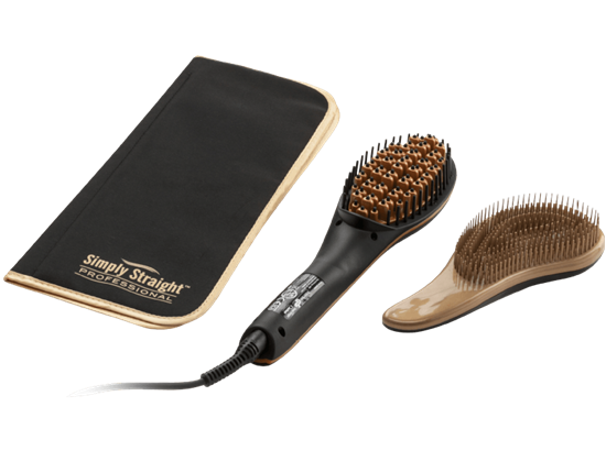 Picture of Hair Straightener Brush- GENIUS 17004 Simply Straight Professional