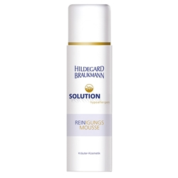 Изображение Hildegard Braukmann 24h Solution hypoallergenic cleansing mousse cleansing foam