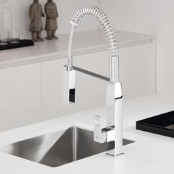 Изображение Grohe Eurocube professional single-lever sink mixer chrome  31395000