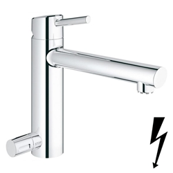 Изображение Grohe Concetto single-lever sink mixer, with device shut-off valve  31215001