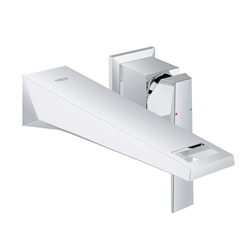 Picture of Grohe Allure Brilliant 2 hole wall-mounted basin mixer projection - 210 mm  19783000