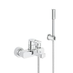 Изображение Grohe Quadra single lever bath mixer with shower set  32639000