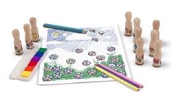 Изображение Melissa & Doug 12306- Stamp with wooden handle luxury version