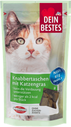Picture of  Cat's snack- Snack bags with cat grass