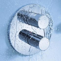 תמונה של Grohe Grohtherm 3000 Cosmopolitan thermostatic shower mixer trim set chrome 19467000