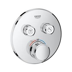 תמונה של Grohe Grohtherm SmartControl thermostat with 2 shut-off valves chrome 29119000