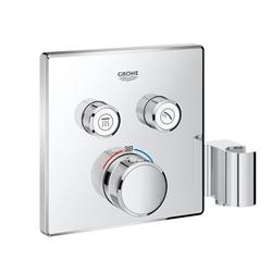 תמונה של Grohe Grohtherm SmartControl thermostat with 2 shut-off valves and integrated shower bracket 29125000