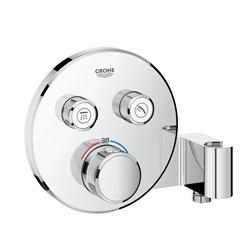 תמונה של Grohe Grohtherm SmartControl thermostat with 2 shut-off valves and integrated shower bracket 29120000