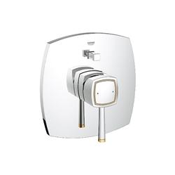 תמונה של Grohe Grandera single lever bath mixer trim set chrome / gold 19920IG0