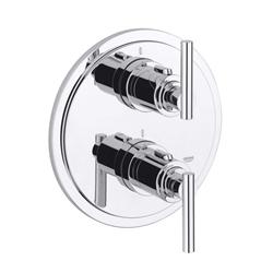 תמונה של Grohe Atrio thermostatic shower mixer with iota handle, new version 19398000