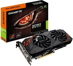 Picture of GIGABYTE GeForce GTX 1070 WINDFORCE OC Rev 2.0, graphics card